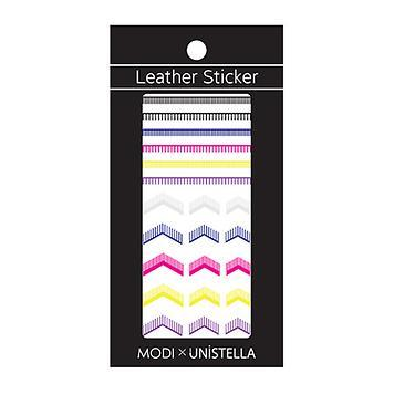 MODIXUNISTELLA Nail Leather Sticker