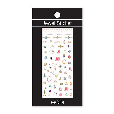 MODI Holiday Jewel Sticker