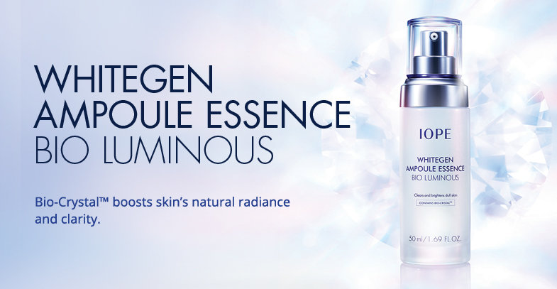 IOPE] Whitegen Ampoule Essence Bio Luminous - 50ml - kbeautyfox