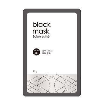 살롱 에스테 블랙 마스크