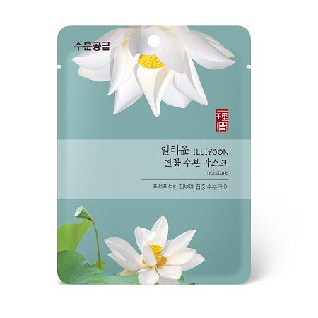 일리윤-연꽃 수분 마스크-1