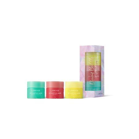 라네즈-립 슬리핑 마스크 3종_드림버블 홀리데이 컬렉션-1
