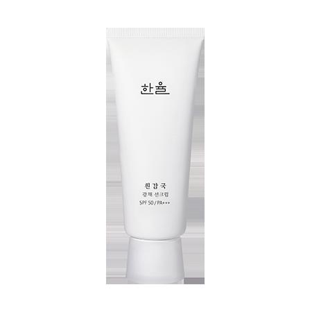 한율-흰감국 광채 선크림-3