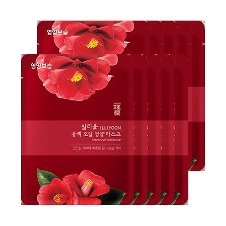 일리윤-동백 오일 영양 마스크-3