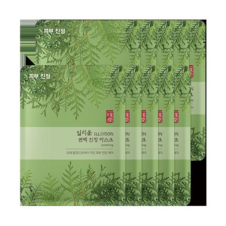 일리윤-보태니컬 에센스 편백 마스크-3