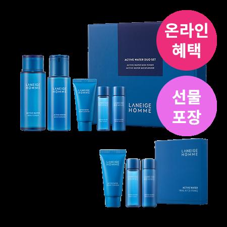 라네즈-옴므 액티브워터 2종세트-2