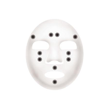 서클 포인트 블랙칩 마스크